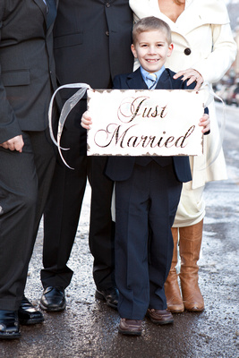 Just Married Boy